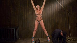 Felony Hot big titted MILF Category 5 suspension.