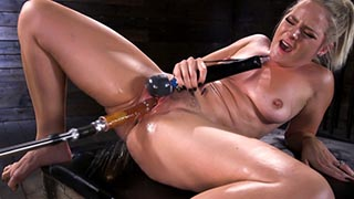 Blonde Squirting Slut Gets Fucked Out of Her Mind!